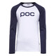 POC Raglan Longsleeve Shirt Men blue/white